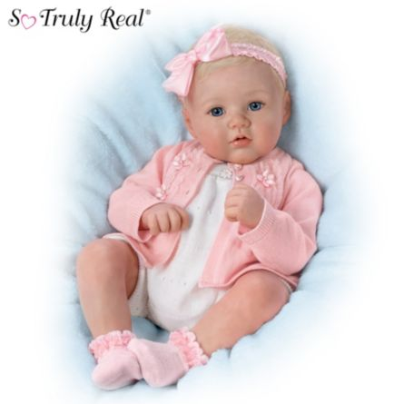 Realistic Baby Dolls Marissa May Quot Perfect In Pink Annika