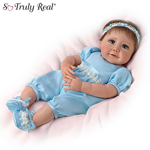 'Baby Blue Eyes' Weighted So Truly Real® Baby Doll