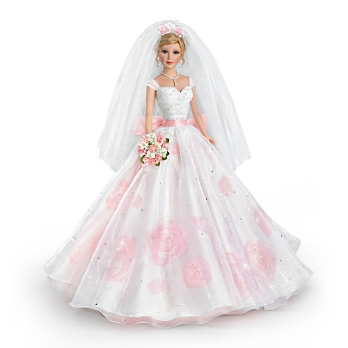 Sandra Bilotto 'Love In Bloom' Bisque Porcelain Bride Doll