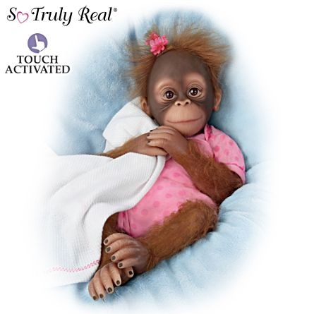 Poseable Novi Monkey Doll