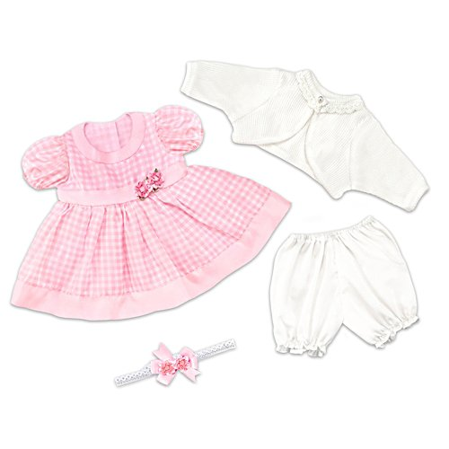 "Party Dress Baby Doll Accessory Set For 17"" - 19"" Dolls"