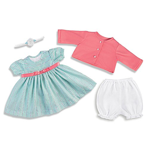 "'Sweet And Sunny' Baby Doll Outfit Set For 20"" - 22"" Dolls"