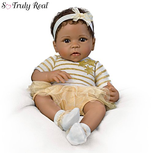 "Linda Murray ""A Star Is Born"" Weighted Baby Doll"