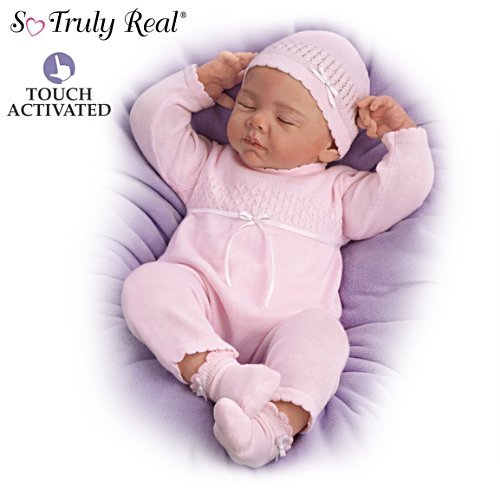 "Andrea Arcello ""Beautiful Dreamer"" Breathing Baby Doll"
