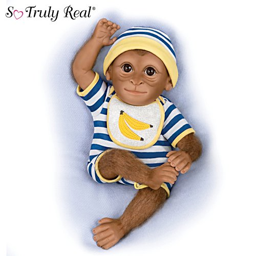 'Kirby' So Truly Real® Monkey Doll