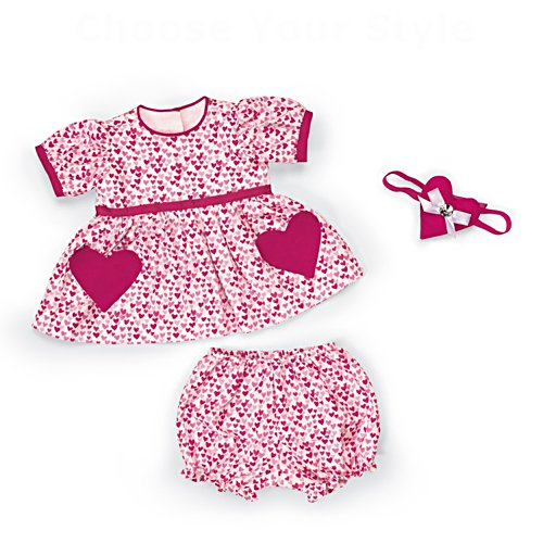 My Valentine Heart Doll Accessory Set