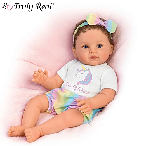 "P. Lau ""One Of A Kind Katherine"" Lifelike Poseable Baby Doll"