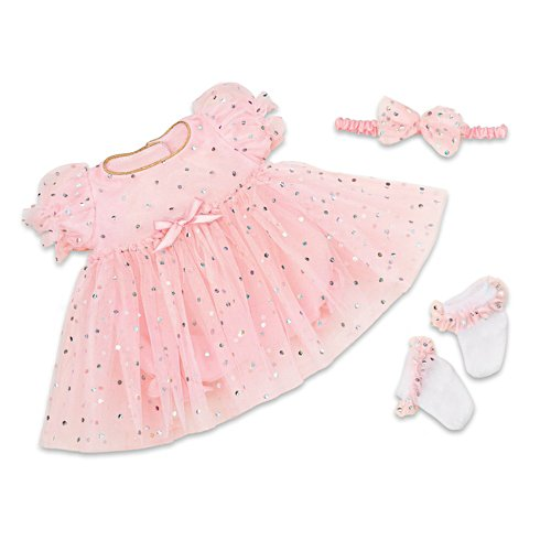 """Celebration Dress"" 3-Piece Outfit For 17"" - 19"" Baby Dolls"