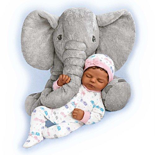 Naomi & Nora – Babypuppe mit Plüsch-Elefant