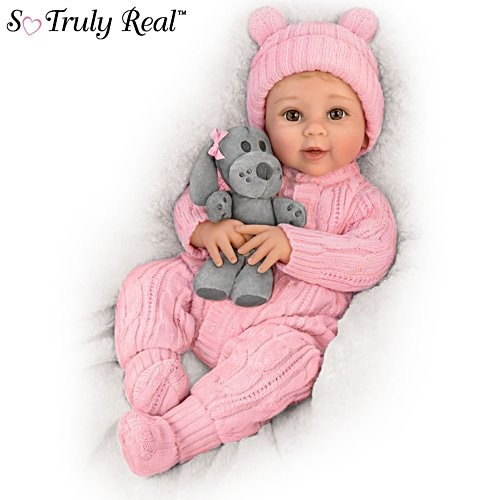 'Arianna, My Snuggle Pup' So Truly Real® Baby Doll And Plush Dog Set