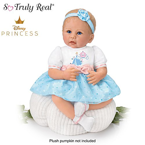Linda Murray Disney Vinyl Baby Doll With Cinderella Outfit