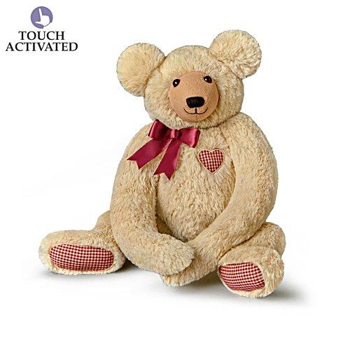 "Dawn Santagata Plush Teddy Bear With Lifelike ""Heartbeat"""