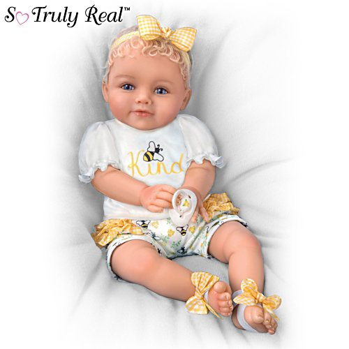 Bee Kind So Truly Real Baby Doll