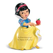 Disney 'My Granddaughter, The Apple Of My Eye' Snow White Figurine