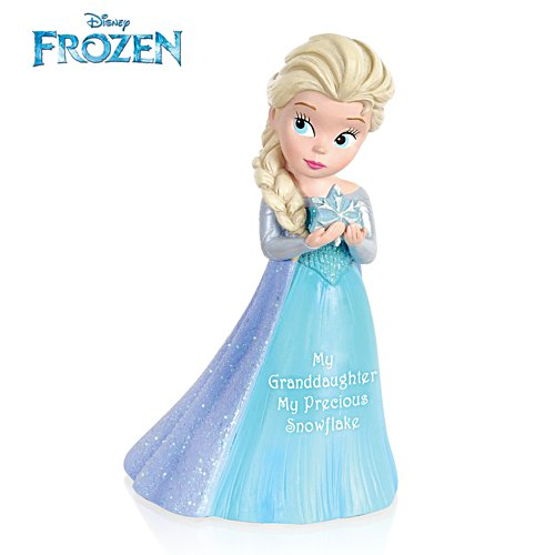 Disney 'My Granddaughter, My Precious Snowflake' Figurine