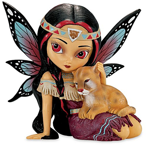 Jasmine Becket-Griffith Braveridge, the Spirit of Courage Figurine
