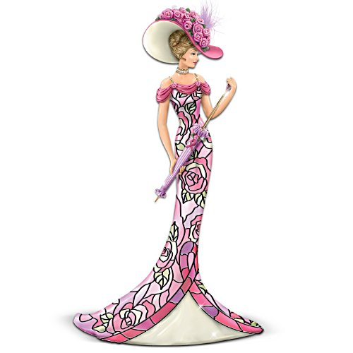 Pink Rose Of Hope Figurine