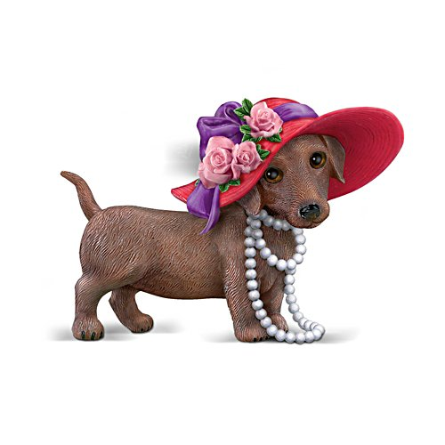 """Red Hot Mama"" Dachshund Figurine"