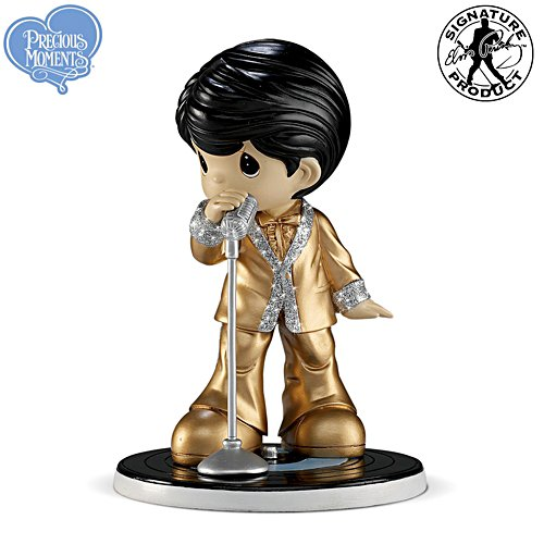 "Precious Moments Elvis ""Can't Help Falling In Love With You"" Figurine"