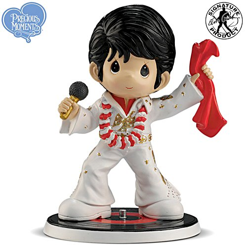 "Precious Moments Elvis ""Aloha From Hawaii"" Figurine"