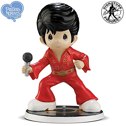 "Precious Moments Elvis ""Don't Be Cruel"" Figurine"