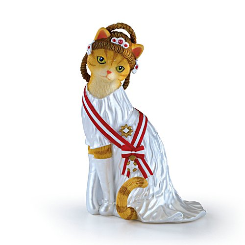 'Princess Grace Kitty' Figurine
