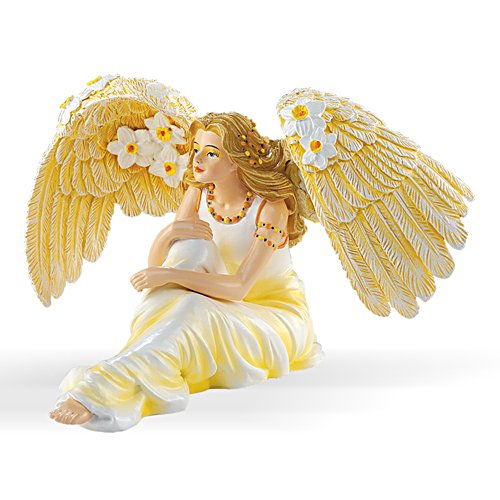 Thomas Kinkade Beautiful Narcissus Figurine