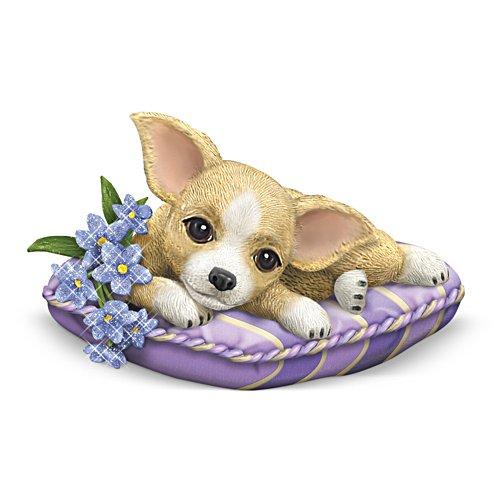 Love Never Forgets Chihuahua Figurine