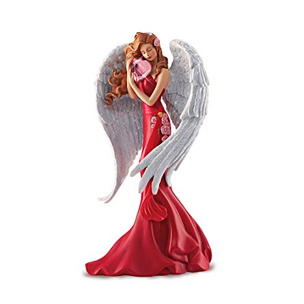 "Thomas Kinkade Women's Heart Health ""Heart Of Joy"" Angel Figurine"