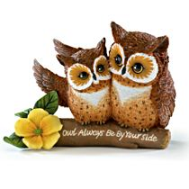 "Kayomi Harai ""Owl Always Be By Your Side"" Figurine"