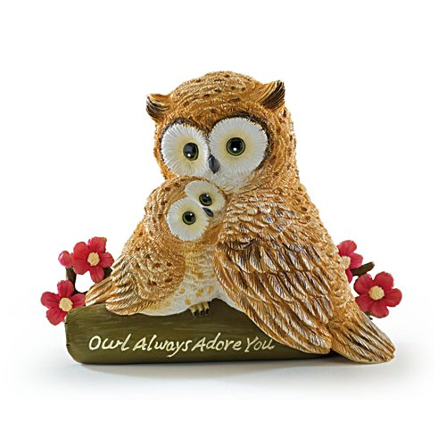 Owl Always Adore You Figurine