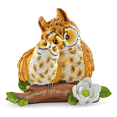 'Owl Always Lift You Up' Figurine