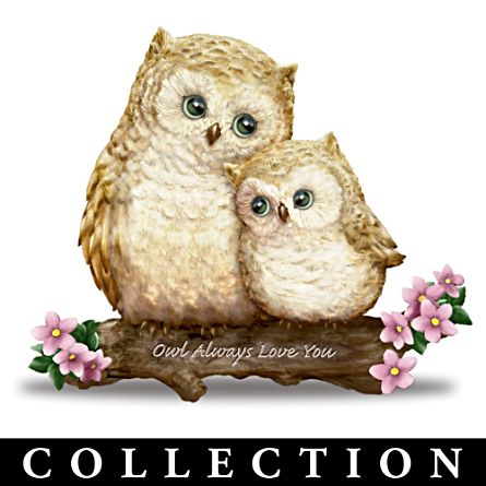 'You're Such A Hoot!' Owl Figurine Collection
