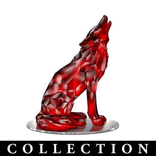 Blake Jensen Rarest Gem-Inspired Wolf Figurine Collection