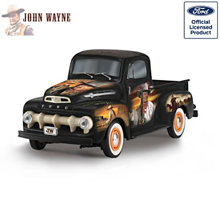 "John Wayne ""The Duke"" 1952 Ford F150 Sculpture"