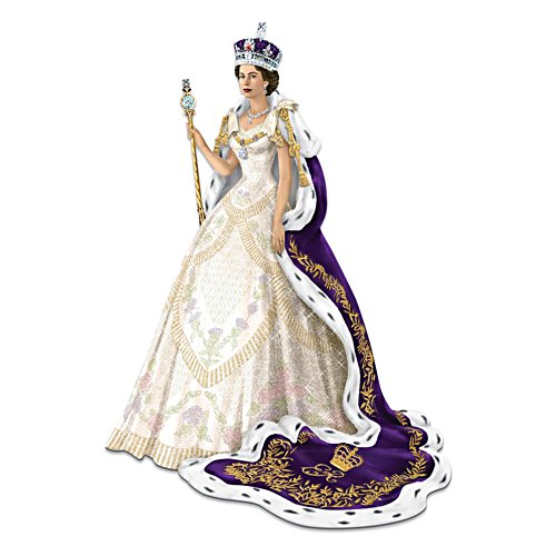"""The Coronation Of Queen Elizabeth"" Figurine"