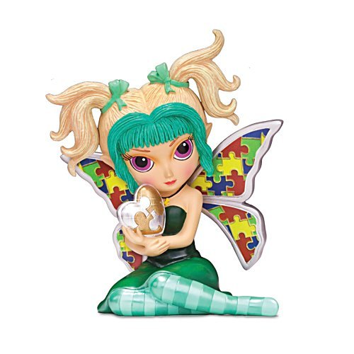 Jasmine Becket-Griffith Autism Support Fairy Figurine