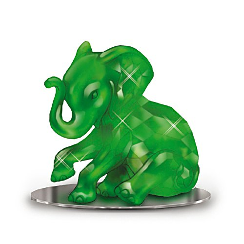 'Matriarch Of The Jadeite' Elephant Figurine