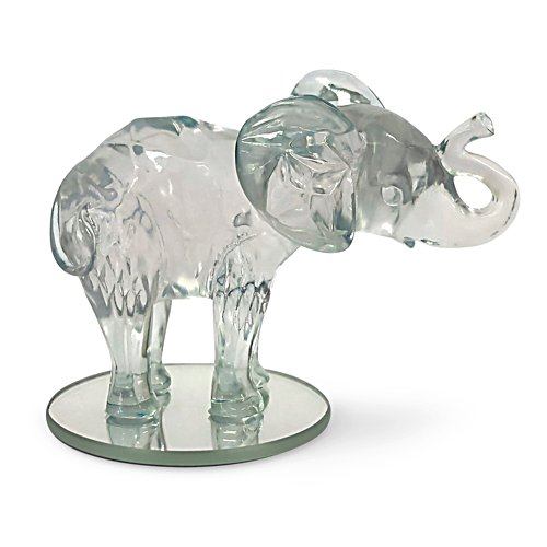 'Matriarch Of The Tanzanite' Elephant Figurine