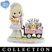 """""""Purr-cious Moments Together"""" Figurines"""
