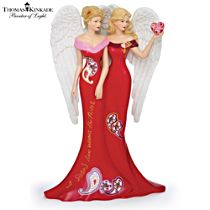 A Sister's Love Warms the Heart Health Angel Figurine