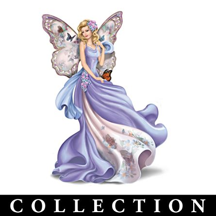 Lena Liu Alzheimer's Support Angel Figurine Collection