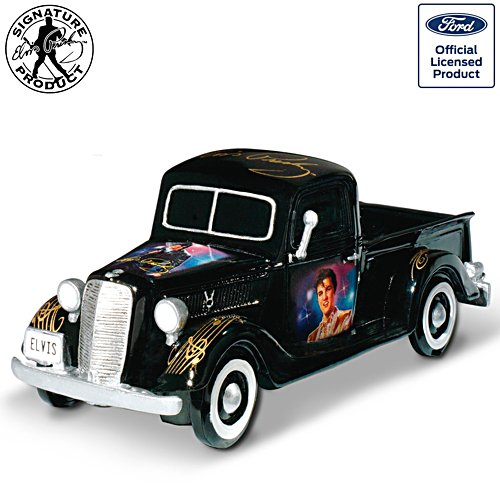 Rock 'n' Rollin' With Elvis - Elvis Presley Ford Pickup Skulptur