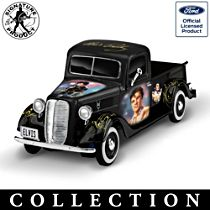 Elvis Presley Tribute 1:36-Scale Sculpted Ford Truck Collection