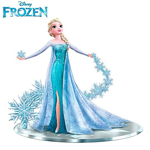 FROZEN 'Let It Go' Elsa The Snow Queen Figurine