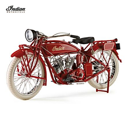 Indian Motorcycle 1:6-Scale Diecast 1920 Scout