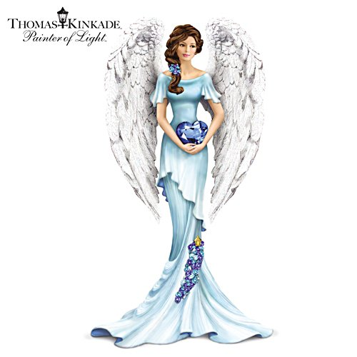 Thomas Kinkade Heavenly Whisper Of Hope Figurine