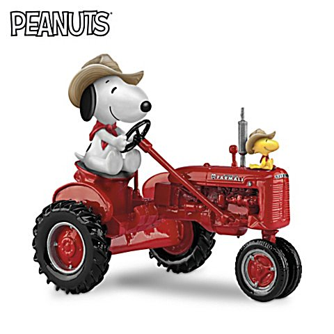 Joe Farmer – Peanuts Traktor-Figur
