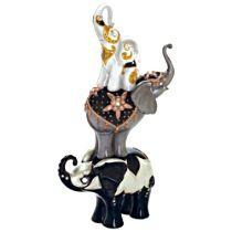 "Blake Jensen ""Lucky Me"" Elephants Figurine"
