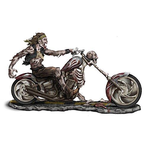 """Dead Man Riding"" Zombie Biker Figurine"